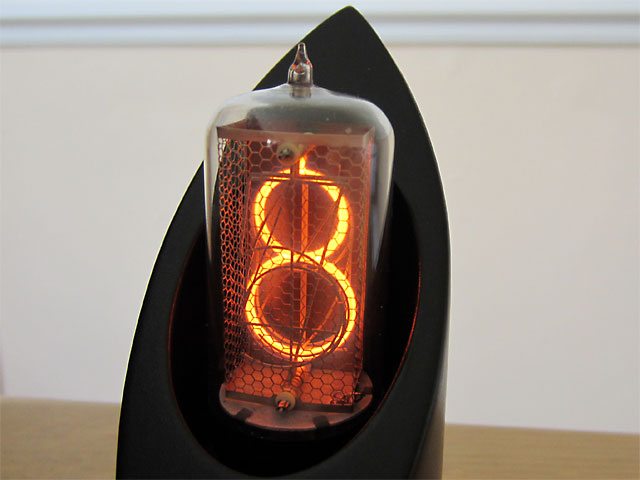 Hivac GR10J nixie tube clock