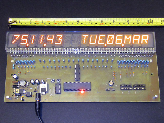 Williams alphanumeric display